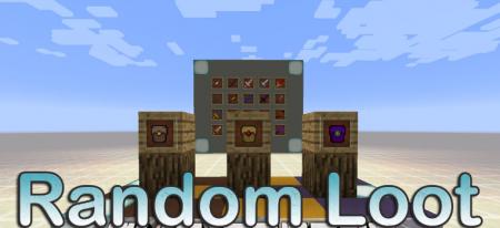 Скачать Random Loot для Minecraft 1.16.5