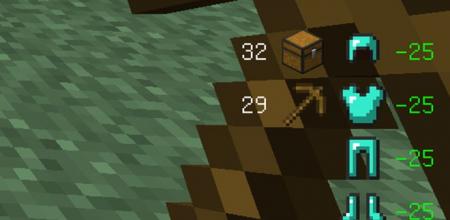 Скачать Giselbaer's Durability Viewer для Minecraft 1.16.5