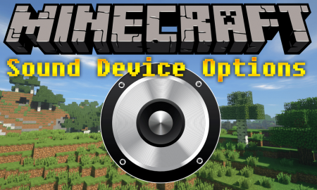 Скачать Sound Device Options для Minecraft 1.15.2