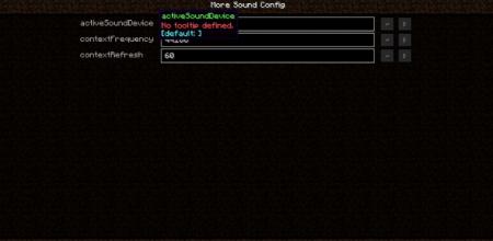 Скачать Sound Device Options для Minecraft 1.16.5