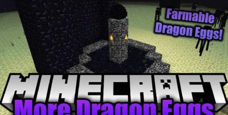 Скачать More Dragon Eggs для Minecraft 1.16.5