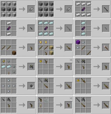 Скачать Ancient Guns для Minecraft 1.15.1
