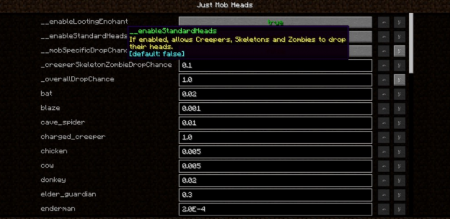 Скачать Just Mob Heads для Minecraft 1.16.5