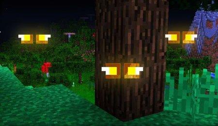 Скачать Eyes in the Darkness для Minecraft 1.16.5