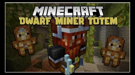 Скачать Dwarf Miner Totem для Minecraft 1.16.4
