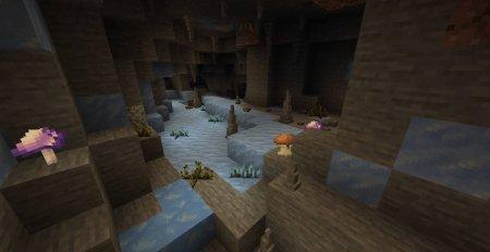 Скачать Extended Caves для Minecraft 1.16.4
