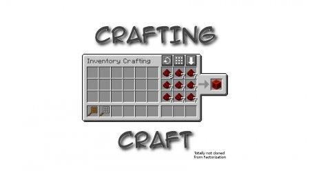 Скачать CraftingCraft для Minecraft 1.16.5