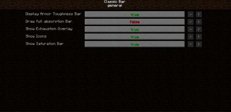 Скачать Classic Bars для Minecraft 1.16.5