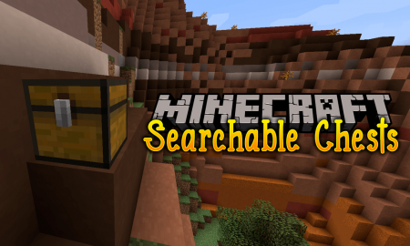 Скачать Searchable Chests для Minecraft 1.16.5