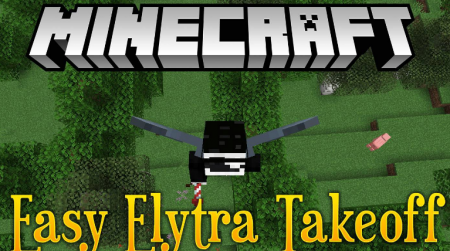 Скачать Easy Elytra Takeoff для Minecraft 1.16.4