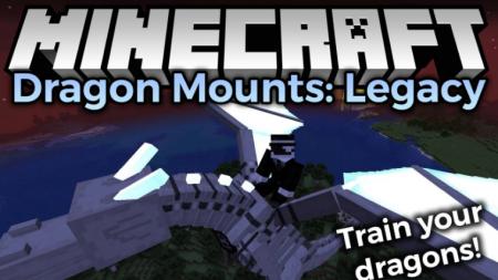 Скачать Dragon Mounts: Legacy для Minecraft 1.16.4
