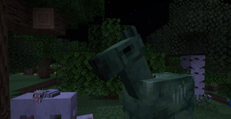 Скачать Zombie Horse Spawn для Minecraft 1.16.4