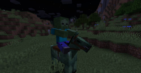 Скачать Zombie Horse Spawn для Minecraft 1.16.5