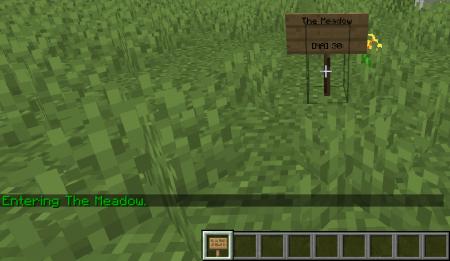Скачать Named Areas для Minecraft 1.16.5