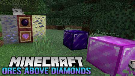 Скачать Ores Above Diamonds для Minecraft 1.16.3