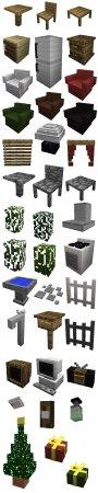 Скачать MrCrayfish's Furniture для Minecraft 1.15.2
