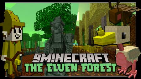 Скачать The Elven Forest для Minecraft 1.12