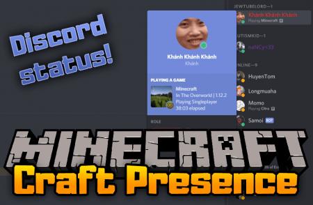 Скачать Craft Presence для Minecraft 1.16.5