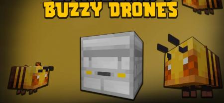 Скачать Buzzy Drones для Minecraft 1.16.5