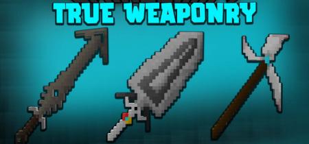 Скачать True Weaponry для Minecraft 1.16.2