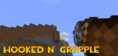 Скачать Hooked N' Grapple для Minecraft 1.16.5