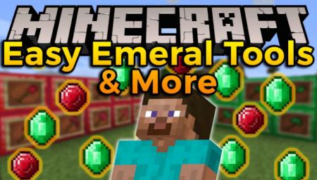 Скачать Easy Emerald Tools & More для Minecraft 1.16.1