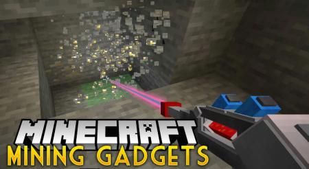 Скачать Mining Gadgets для Minecraft 1.14.3
