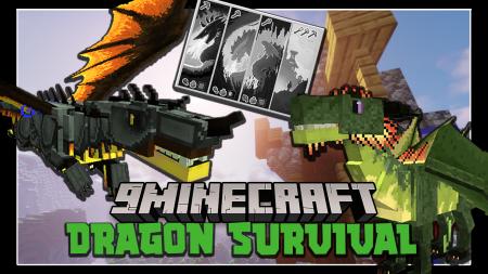 Скачать Dragons Survival для Minecraft 1.15.1