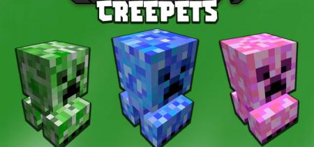 Скачать Creepets для Minecraft 1.16.5