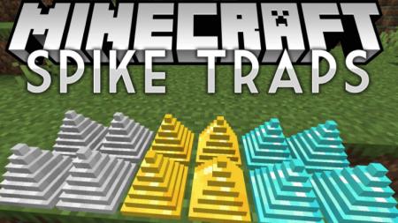 Скачать Spike Traps для Minecraft 1.16.5