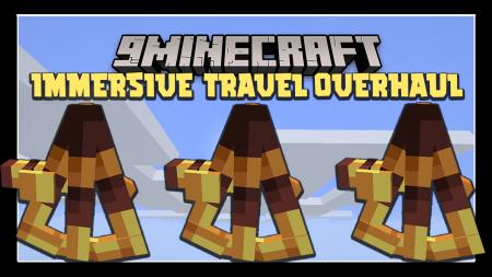 Скачать Immersive Travel Overhaul для Minecraft 1.16.2