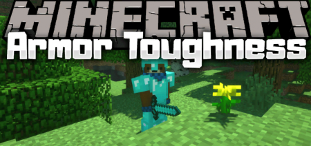 Скачать Armor Toughness Bar для Minecraft 1.16.5