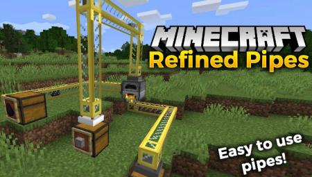 Скачать Refined Pipes для Minecraft 1.15.1