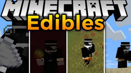 Скачать Edibles для Minecraft 1.16.5