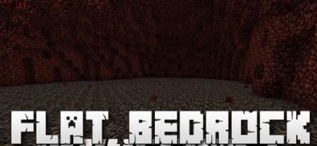 Скачать Flat Bedrock для Minecraft 1.16.5
