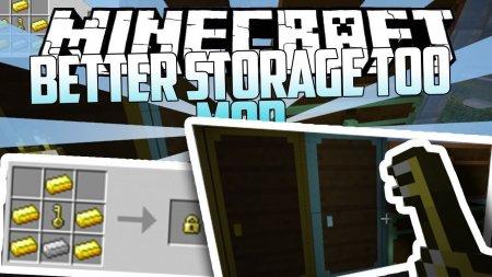 Скачать Better Storage Too для Minecraft 1.16.4