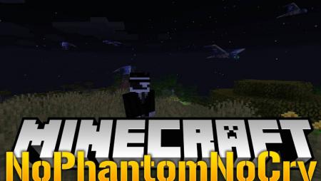 Скачать NoPhantomNoCry для Minecraft 1.16.5
