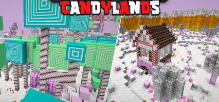 Скачать Candylands для Minecraft 1.16.1
