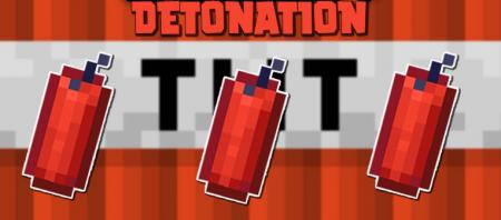 Скачать Detonation для Minecraft 1.16.1