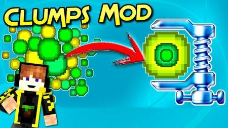 Скачать Clumps для Minecraft 1.16.5