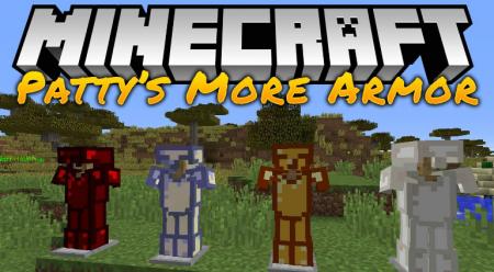 Скачать PattysMoreArmor для Minecraft 1.15.2