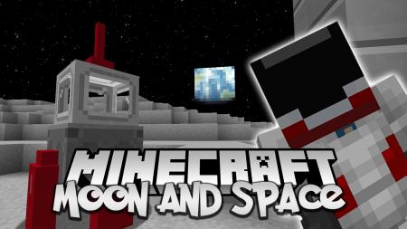Скачать Moon and Space для Minecraft 1.16.2