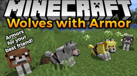 Скачать Wolves With Armor для Minecraft 1.15.1