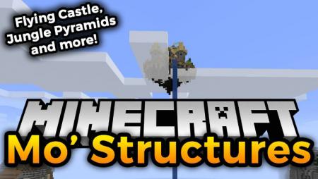 Скачать Mo' Structures для Minecraft 1.17