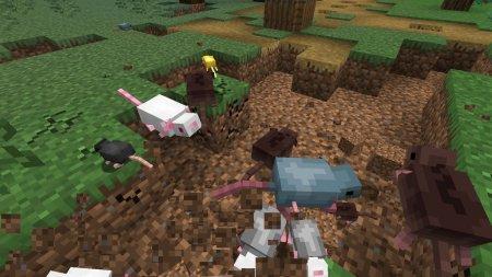 Скачать Rats Mischief для Minecraft 1.17