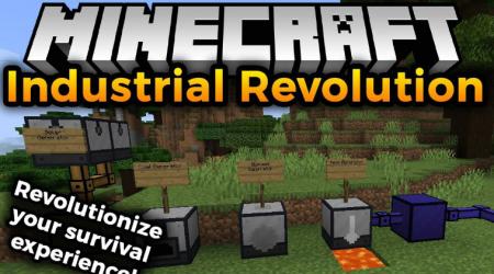 Скачать Industrial Revolution для Minecraft 1.17