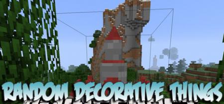 Скачать Random Decorative Things для Minecraft 1.17.1