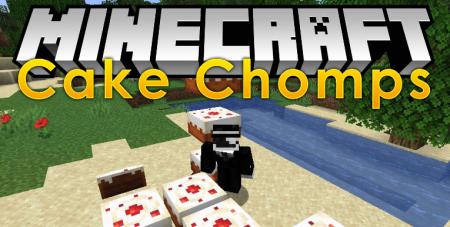 Скачать Cake Chomps для Minecraft 1.16.5