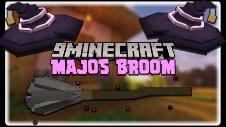 Скачать Majos Broom для Minecraft 1.17