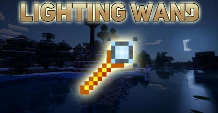Скачать Lighting Wand для Minecraft 1.17
